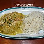 recette curry de poulet à l'orange et au yaourt
