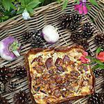 recette Quiche feuilletée poires et magrets fumés