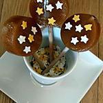 recette Sucettes au caramel et étoiles sucrées