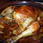 recette Tajine de poulet aux citrons confits................ Facil..... rapide... et délicieux.............