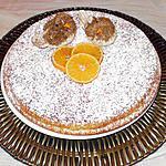 recette gateau au fromage blanc et à la mandarine.