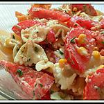 recette Salade de pâte au thon
