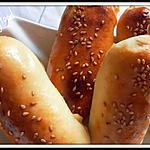 recette Petits pains farcis à la viande hachée de dinde épicée