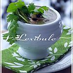 recette Crème d'asperges et de champignons