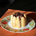 recette Mini charlotte à la banane