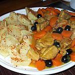 recette Filet mignon.. de Porc.... aux carottes et olives noires.... parfumé au romarin.... avec P.d.terre vapeur...
