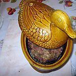 recette terrine de canard a la pistache