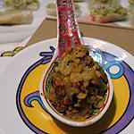 recette Dhal express aux flocons de pois chiche