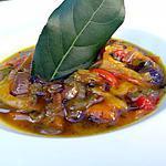 recette Poivrons marinés aux herbes et épices