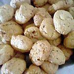 recette cookies aux amandes!