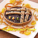 recette Tarte aux figues sèches et framboises
