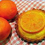 recette Tartelettes à l'orange curd