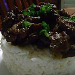 recette Emincé de porc au Ras el Hanout