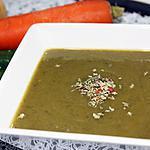 recette Soupe aux légumes poêlés