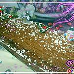 recette bûche a la frangipane et chocolat