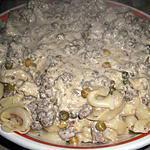 recette Tortellinis et leur sauce fromage