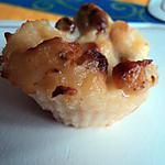 recette Mini flans aux raisins secs