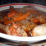 recette Fricassée de poulet au paprika
