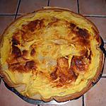 recette Tarte au camembert fondant