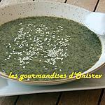 recette Velouté d'épinards aux épices indiennes