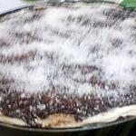 pizza chocolat noix de coco