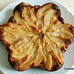 recette Gâteau ricotta pommes-poires-amandes