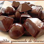 recette chocolat craquant aux noisettes et aux pignons