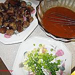 recette Boulettes de veau sauce tomaté