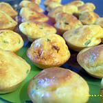 recette minis muffins au chorizo et ciboulette (apéro entre amis)