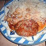 recette Crépinettes de porc mijotées aux champignons