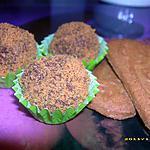truffes au spéculos (noël)