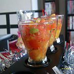 recette verrines multicolores (noël)