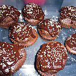 recette CUPCAKE TOUT CHOCOLAT