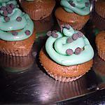 recette CUPCAKE ORIGINAL AUX PEPITES DE CHOCOLAT