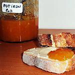 recette Confiture de potiron à l'orange