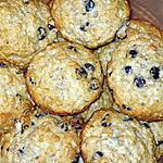 recette Muffins au gruau et pépites de chocolat