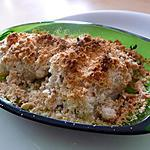 Cabillaud au crumble d'herbes