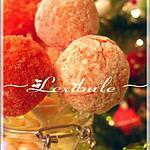 recette ~Bonbons aux fruits