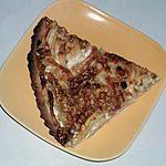 recette tarte cremeuse pommes nougat