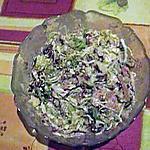 recette salade de boursin au bacon