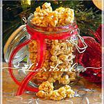 recette Pop corn au caramel