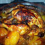 recette Tajine de poulet aux olives.................