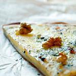 recette Pizza Auvergnate (Bleu, Cantal, Tomme & noix)