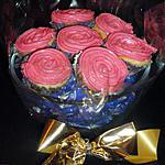 recette bouquet de cupcakes chocolat blanc