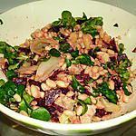 recette salade tiède d'hiver
