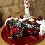 recette Bûche de Noël Forêt Noire