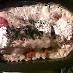 recette Papillote de saumon au boursin cuisine et fleur de sel de Guérande