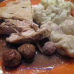 recette Ragoût de pattes et boulettes de porc