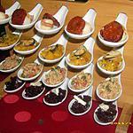 cuillères apéritives en fête (apéro de noël)