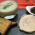 recette ardoise gastronomique de foie gras (noël)